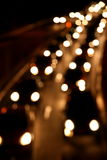 Traffic headlights. City traffic headlights during nighttime stock photography