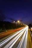 Traffic on highway Royalty Free Stock Photography