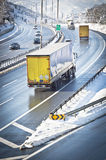 Traffic On Highway Stock Image