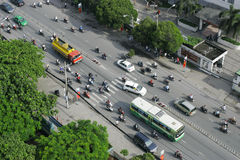 Traffic in Ho Chi Minh City Royalty Free Stock Images