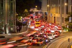 Traffic in Hong Kong. Royalty Free Stock Image