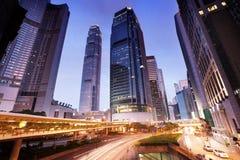 Traffic in Hong Kong Royalty Free Stock Photo
