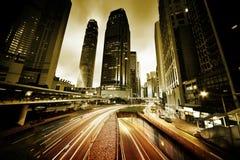 Traffic in Hong Kong Royalty Free Stock Images