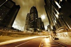 Traffic in Hong Kong Stock Photography
