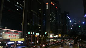 The traffic  in Hong Kong stock video