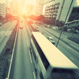 Traffic in hongkong Stock Photography