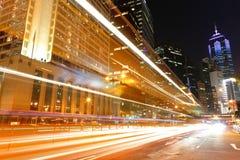 Traffic i stad Arkivbilder