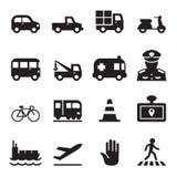 Traffic icon set 2 Royalty Free Stock Photography