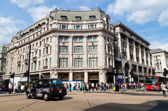 Traffic In Oxford Circus Stock Images