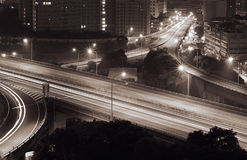 Traffic interchange Royalty Free Stock Images