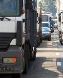 Traffic jam 1 stock image