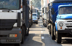 Traffic jam 1 royalty free stock images