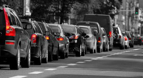 Traffic jam Royalty Free Stock Photos
