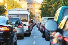 Traffic_jam Fotografia de Stock Royalty Free