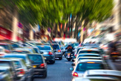 Traffic jam Stock Photos