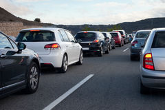 Traffic Jam Stock Image