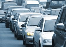 Traffic jam 3 Stock Photography