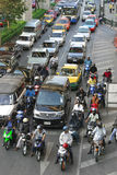 Traffic Jam in Bangkok Royalty Free Stock Photo