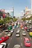 Traffic jam in Bangkok Stock Image