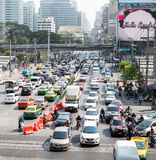 Daily traffic jam Royalty Free Stock Photography
