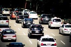 Traffic Jam, Boston, MA Stock Image