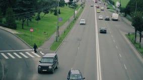Traffic Jam stock video