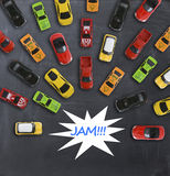 Traffic jam concept Royalty Free Stock Photography
