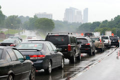 Traffic Jam Congestion Royalty Free Stock Image