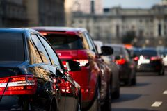 Traffic jam Stock Photography