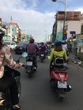 Traffic jam forward Stock Photography