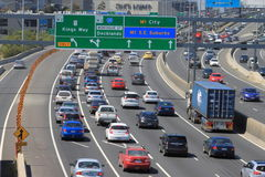 Traffic jam Melbourne Royalty Free Stock Image