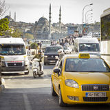 Traffic jam in Istanbul, Turkey Stock Photography