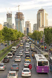 Traffic Jam in Istanbul, Turkey Stock Image