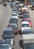 Traffic jam in Jakarta Indonesia Royalty Free Stock Image