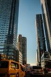 Traffic Jam In Lower Manhattan stock photo