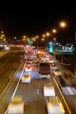 Traffic jam in Moscow Royalty Free Stock Photography