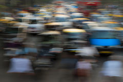 Traffic jam in Mumbai Royalty Free Stock Photos