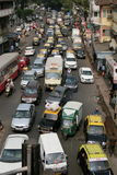 Traffic Jam in Mumbai Stock Image