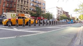 Traffic Jam on a New York City Street Video stock footage