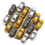 Traffic Jam Royalty Free Stock Image