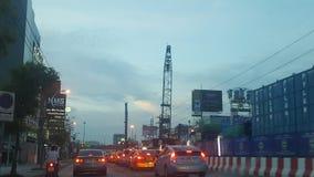 Traffic jam royalty free stock image
