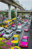 Traffic jams bangkok Stock Images
