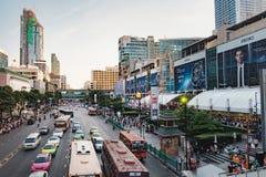 Traffic jams in Bangkok, Thailand Royalty Free Stock Photo