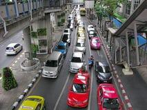 Traffic jams Stock Image