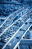 Traffic jams Stock Photos