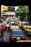 Traffic jams Stock Images