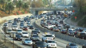 Traffic jams stock video