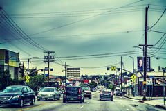 Traffic in L.A. Stock Photography
