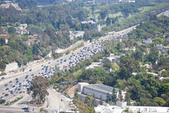 Traffic in LA Royalty Free Stock Photos