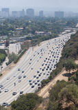 Traffic in LA Royalty Free Stock Photography